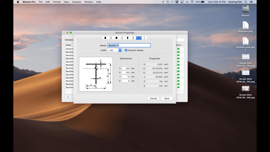iBeams Pro for Mac - review, screenshots