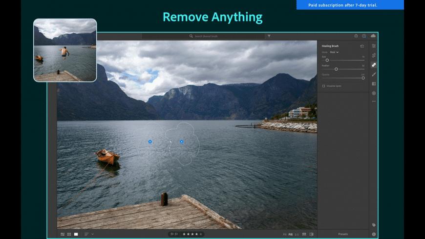 Adobe Lightroom for Mac - review, screenshots