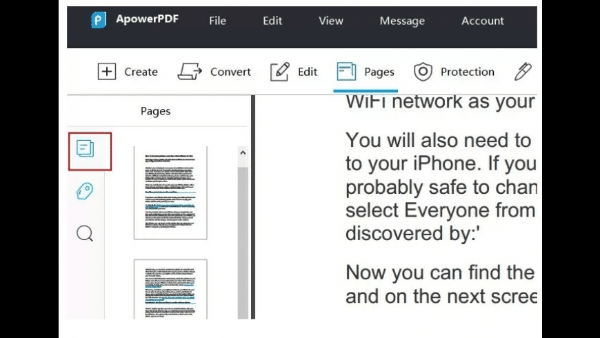 Apowersoft PDF Editor for Mac - review, screenshots