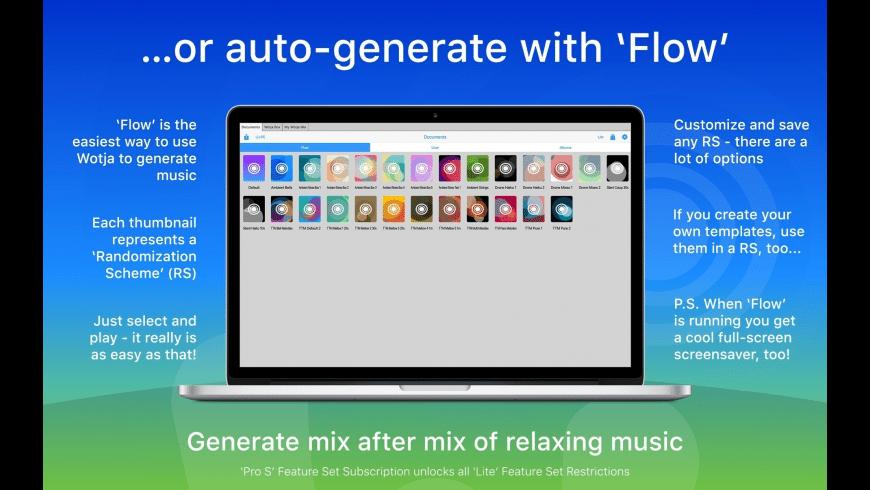 Wotja for Mac - review, screenshots