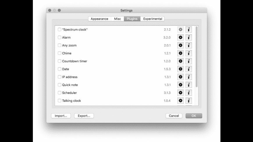 Digital Clock for Mac - review, screenshots