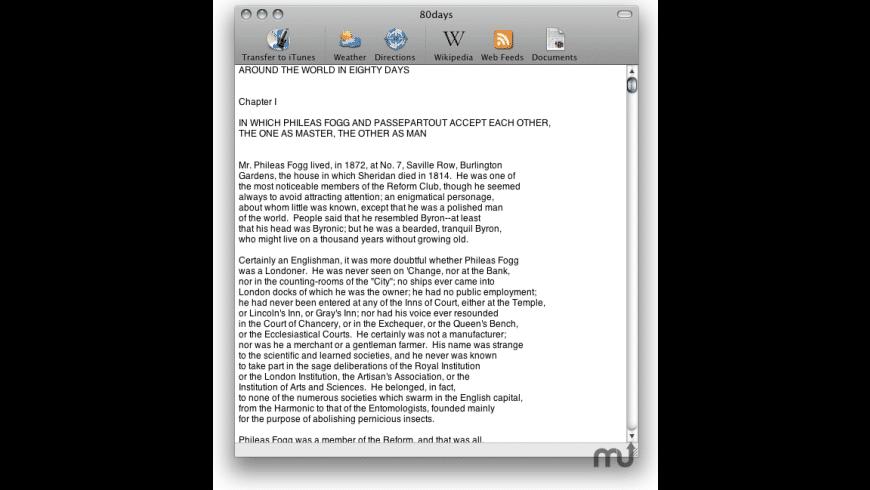 iSpeak It for Mac - review, screenshots
