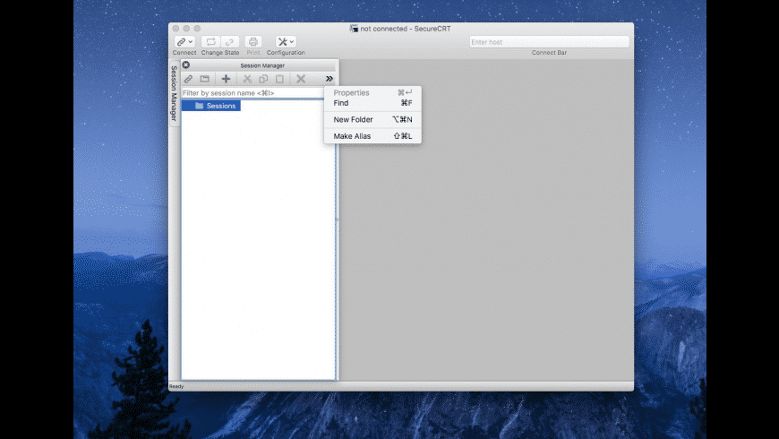 SecureCRT for Mac - review, screenshots