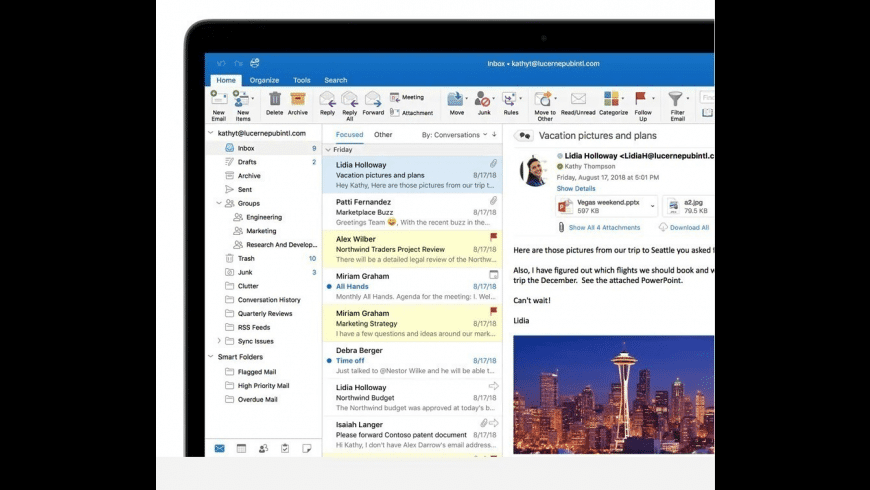 Microsoft Office 365, 2019 for Mac - review, screenshots