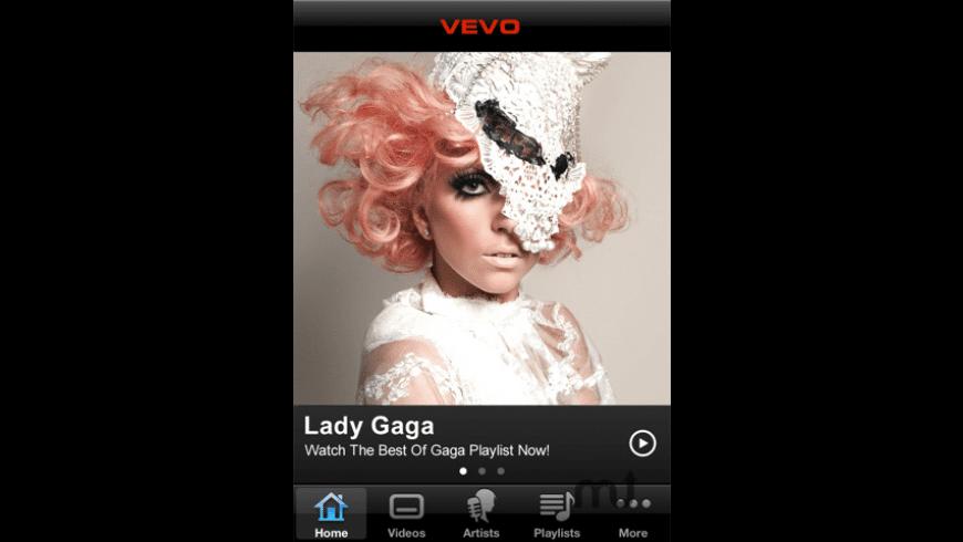 VEVO for Mac - review, screenshots