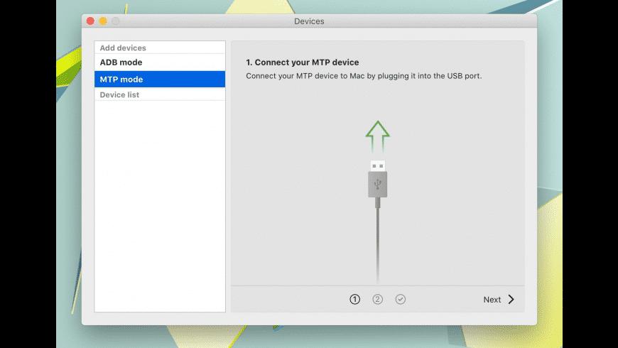 MacDroid for Mac - review, screenshots