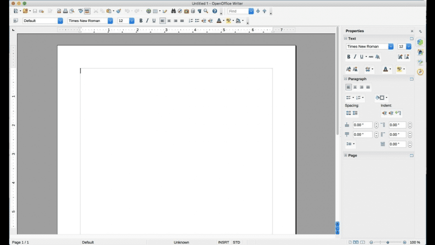 OpenOffice for Mac - review, screenshots