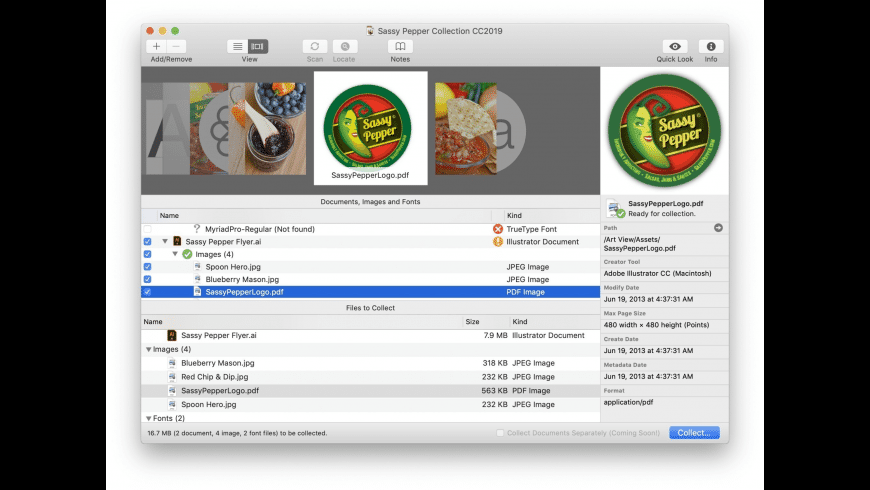 Art Files for Mac - review, screenshots