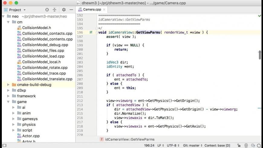 CLion for Mac - review, screenshots