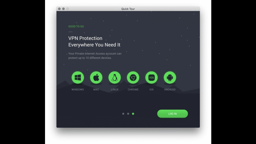 Private Internet Access for Mac - review, screenshots