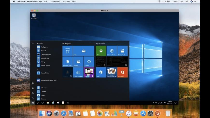 Microsoft Remote Desktop for Mac - review, screenshots