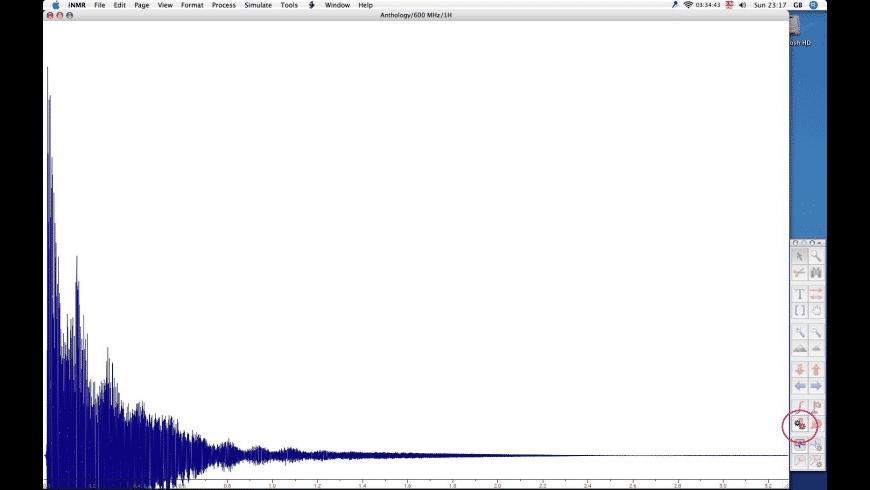 iNMR reader for Mac - review, screenshots