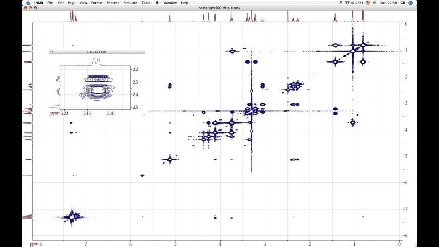 iNMR for Mac - review, screenshots