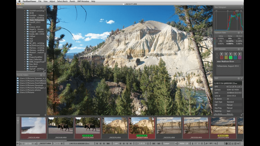 FastRawViewer for Mac - review, screenshots