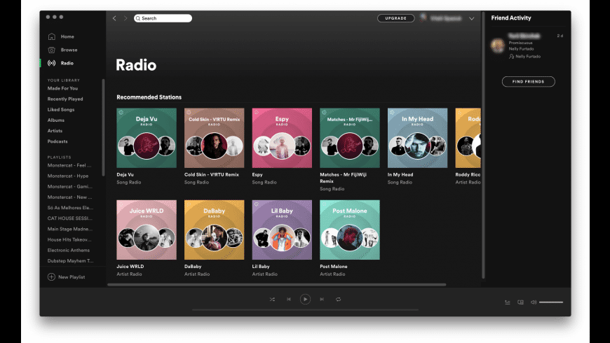Spotify for Mac - review, screenshots