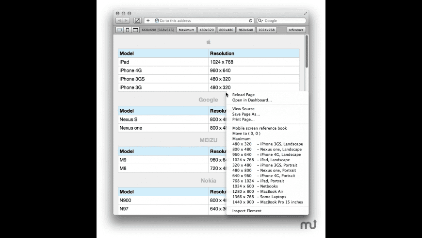 Resize for Mac - review, screenshots