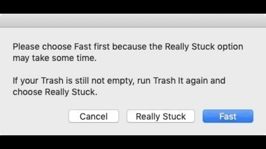 Trash It! for Mac - review, screenshots