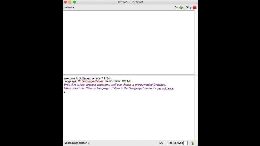 Racket for Mac - review, screenshots
