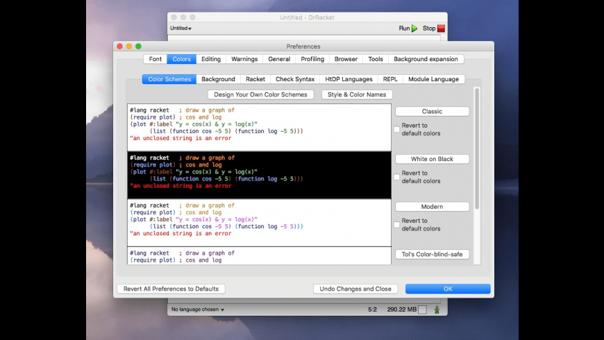 Racket for Mac - review, screenshots