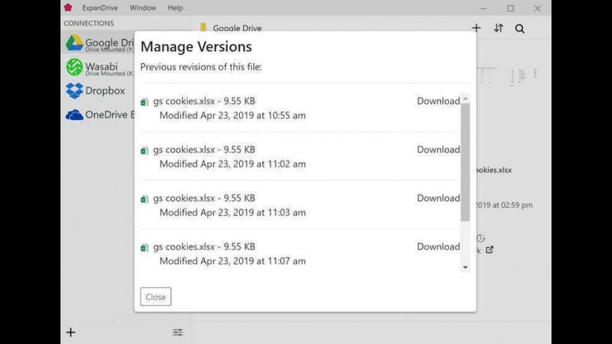 ExpanDrive for Mac - review, screenshots