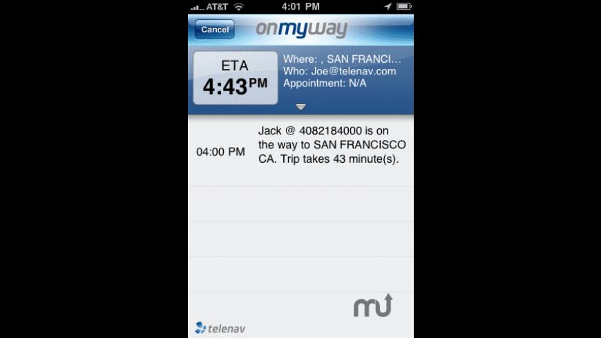 OnMyWay (OMW) for Mac - review, screenshots