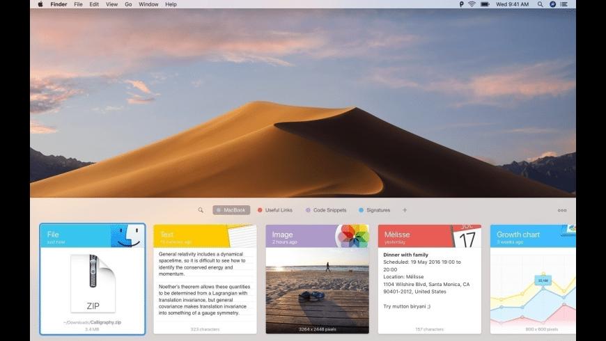 Paste for Mac - review, screenshots