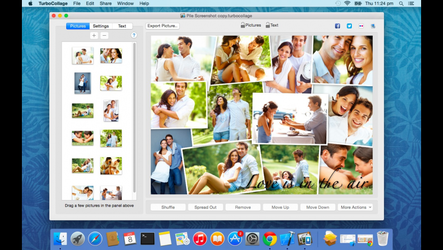 TurboCollage for Mac - review, screenshots