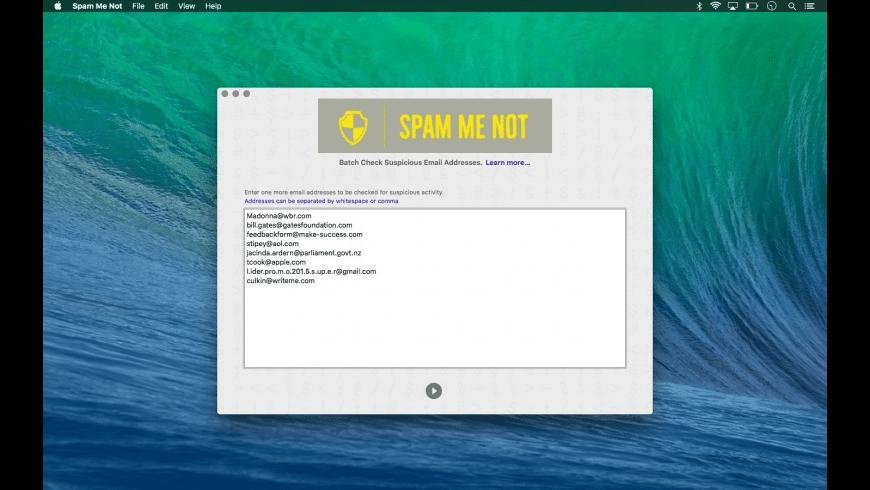 Spam Me Not for Mac - review, screenshots