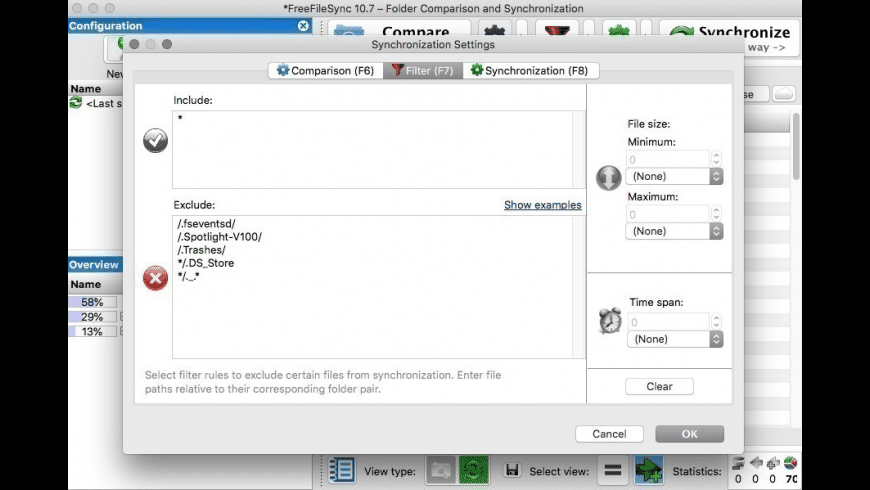 FreeFileSync for Mac - review, screenshots