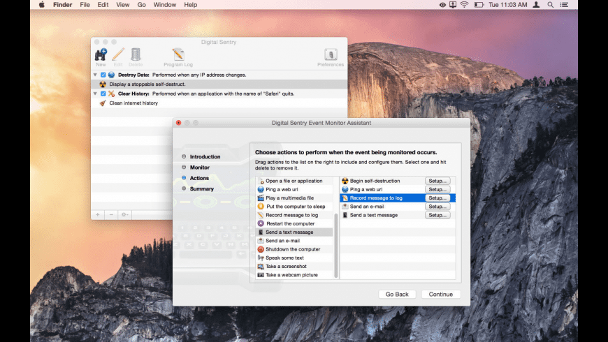 Digital Sentry for Mac - review, screenshots