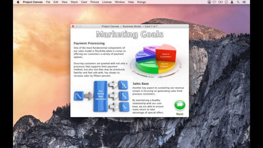 Project Canvas for Mac - review, screenshots
