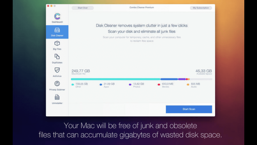 Combo Cleaner for Mac - review, screenshots
