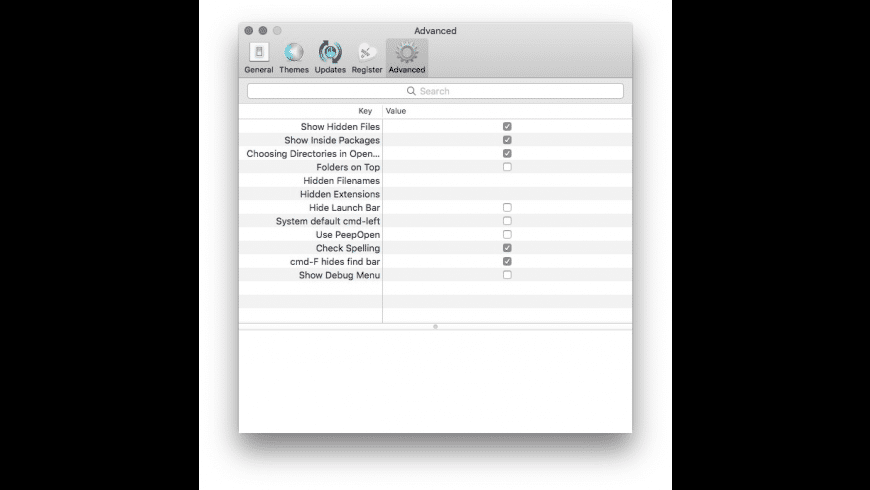 Chocolat for Mac - review, screenshots