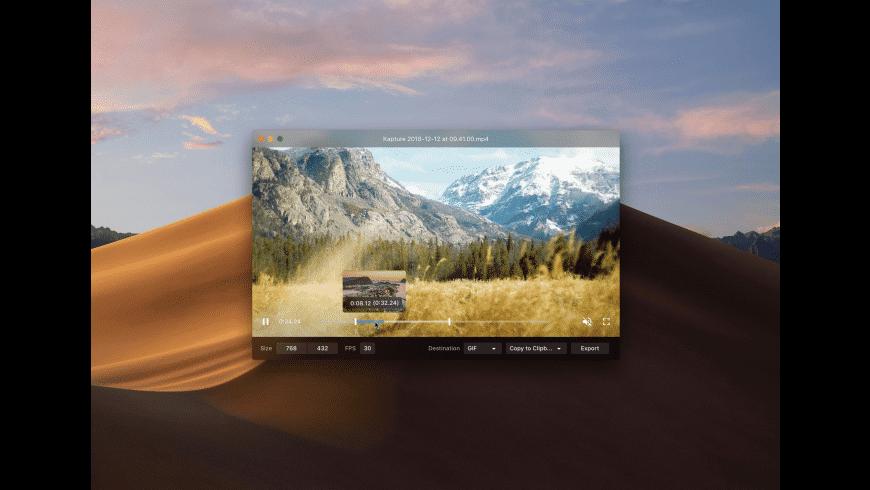 Kap for Mac - review, screenshots