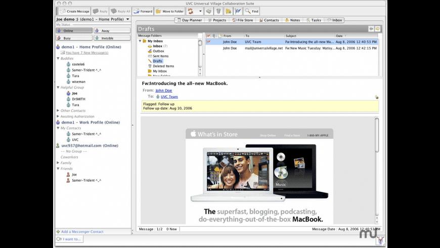 UVC for Mac - review, screenshots