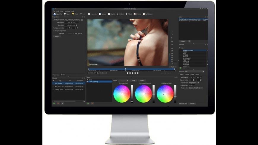 Shotcut for Mac - review, screenshots