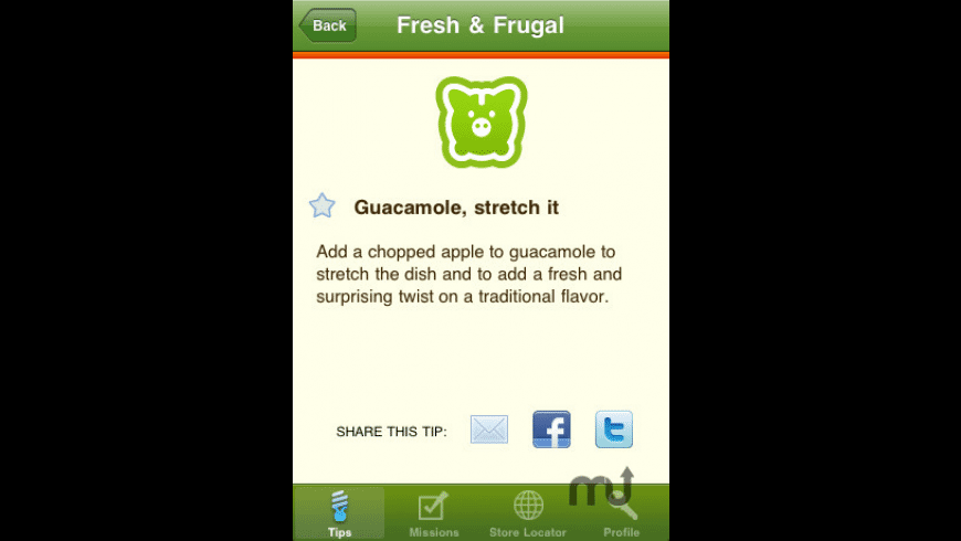 Whole Foods Market Missions for Mac - review, screenshots