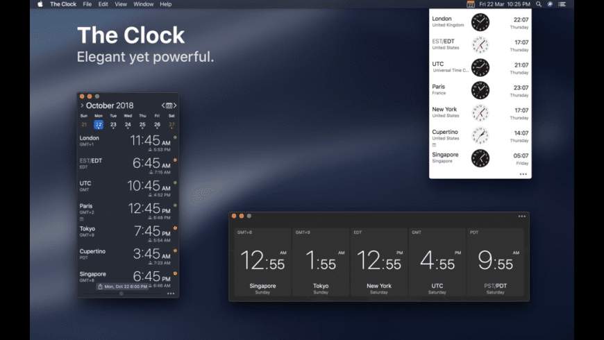 The Clock for Mac - review, screenshots