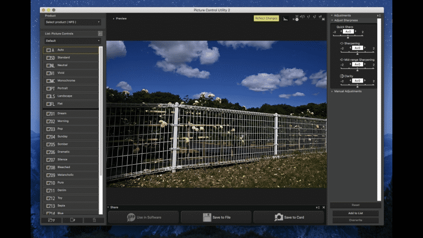Nikon Camera Control Pro for Mac - review, screenshots