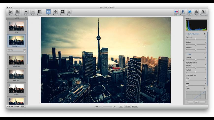 Photo Effect Studio Pro for Mac - review, screenshots