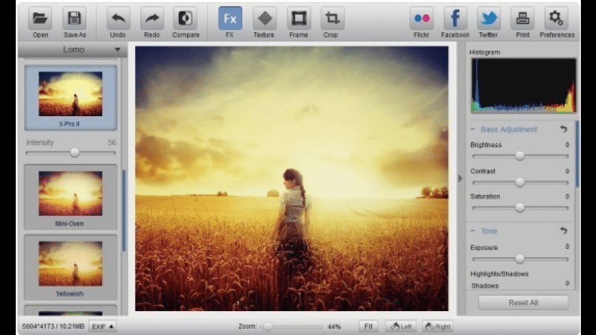 Photo Effect Studio Pro for Mac - review, screenshots
