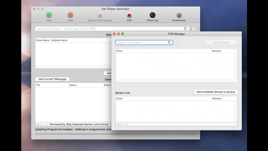 Get iPlayer Automator for Mac - review, screenshots