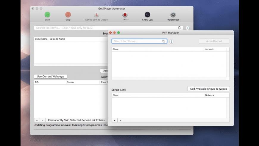 Get iPlayer Automator for Mac - review, screenshots