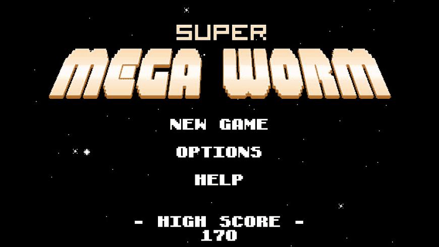 Super Mega Worm for Mac - review, screenshots