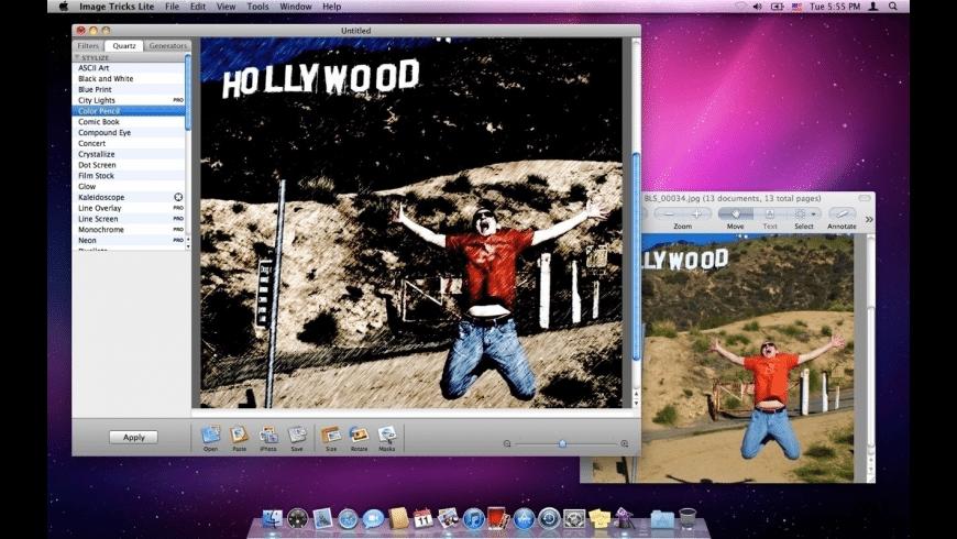 Image Tricks Lite for Mac - review, screenshots