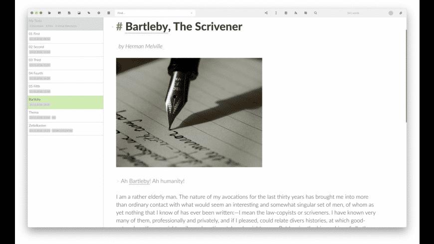 Zettlr for Mac - review, screenshots