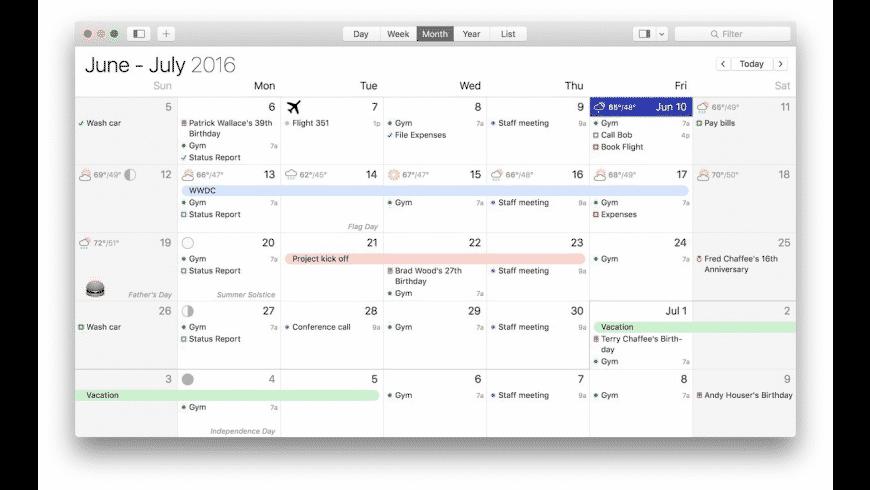 BusyCal for Mac - review, screenshots