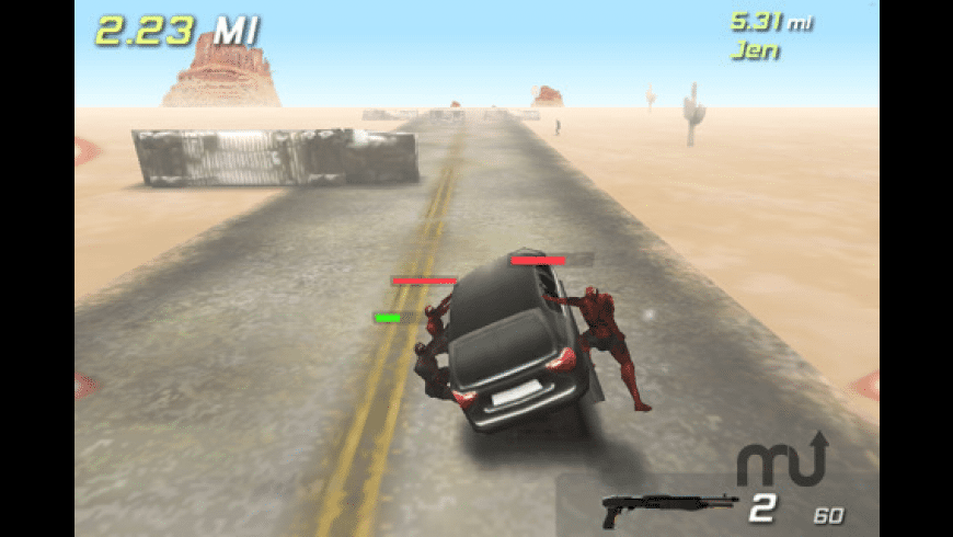 Zombie Highway for Mac - review, screenshots