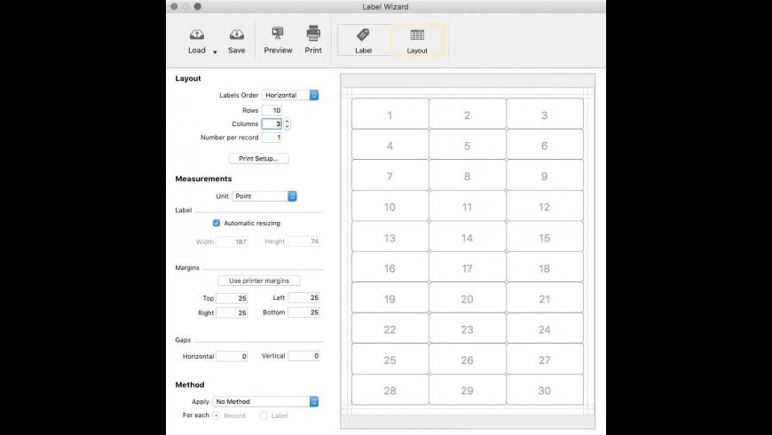 Mailist for Mac - review, screenshots