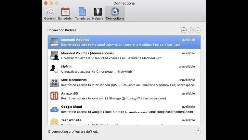 ChronoSync for Mac - review, screenshots